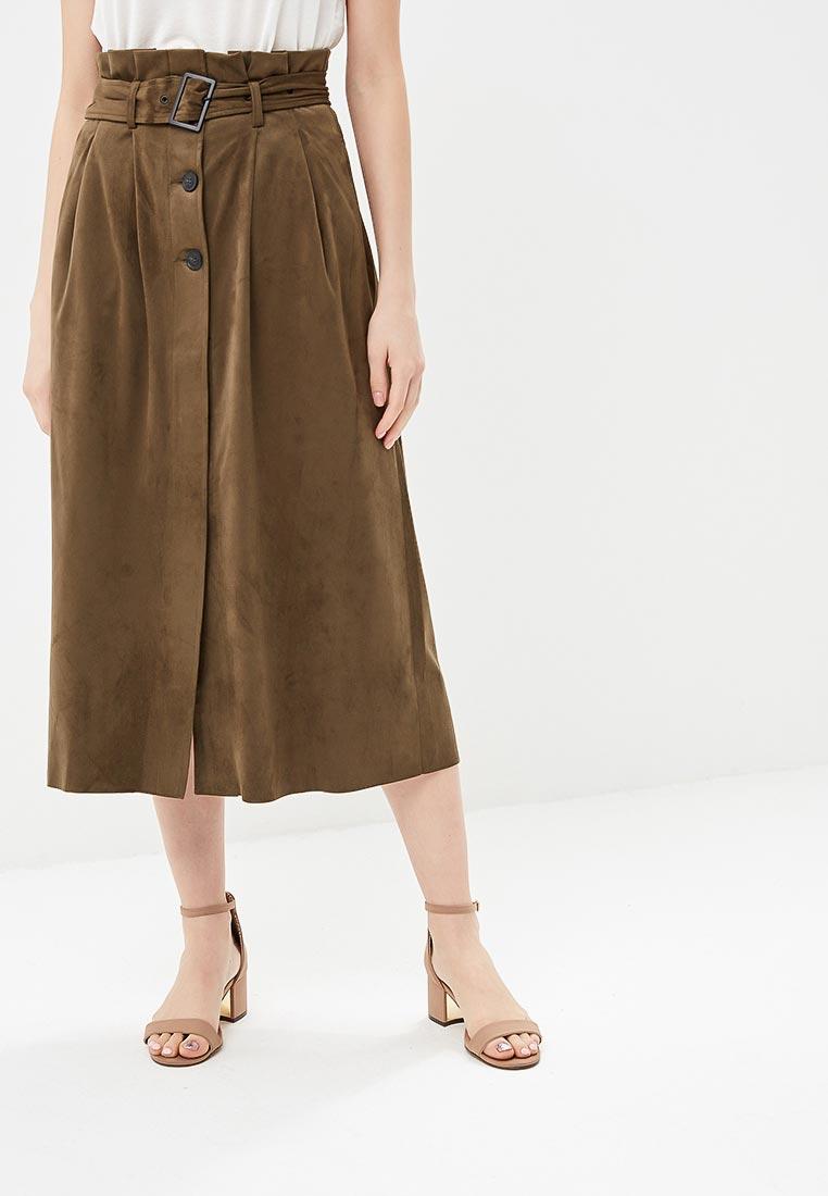 Широкая юбка Mango (Манго) 23095671