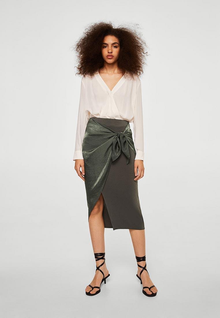 Прямая юбка Mango (Манго) 23055736