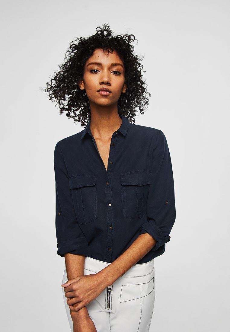 Женские рубашки с длинным рукавом Mango (Манго) 21945022