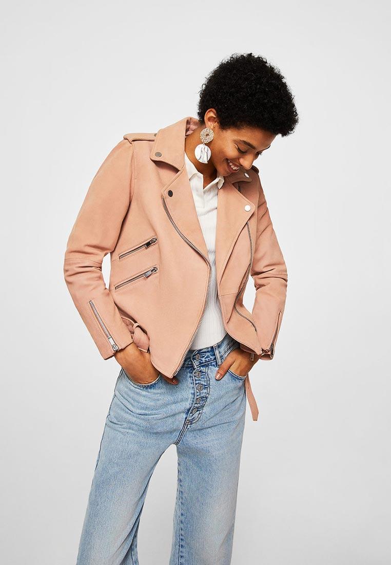 Кожаная куртка Mango (Манго) 23073622