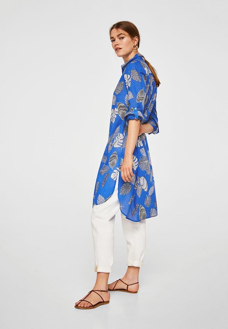Женские рубашки с длинным рукавом Mango (Манго) 23049701