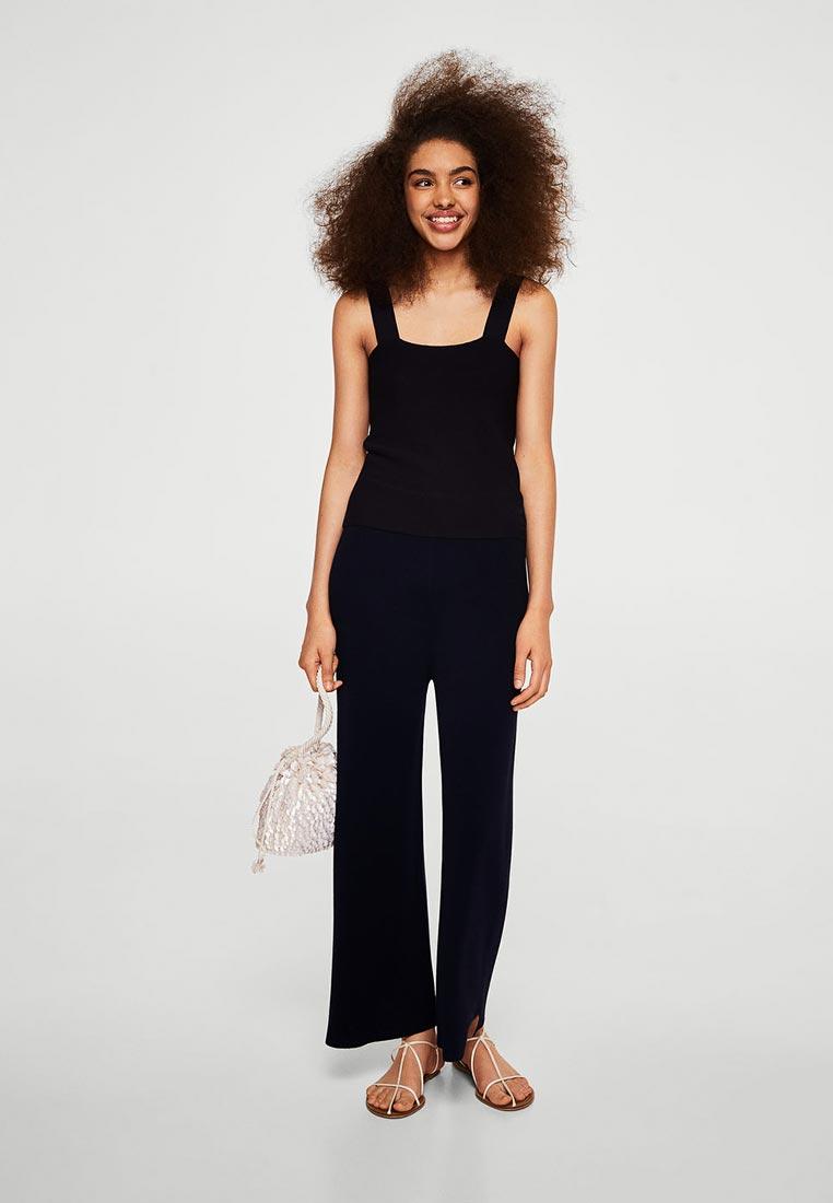 Женские широкие и расклешенные брюки Mango (Манго) 23087716