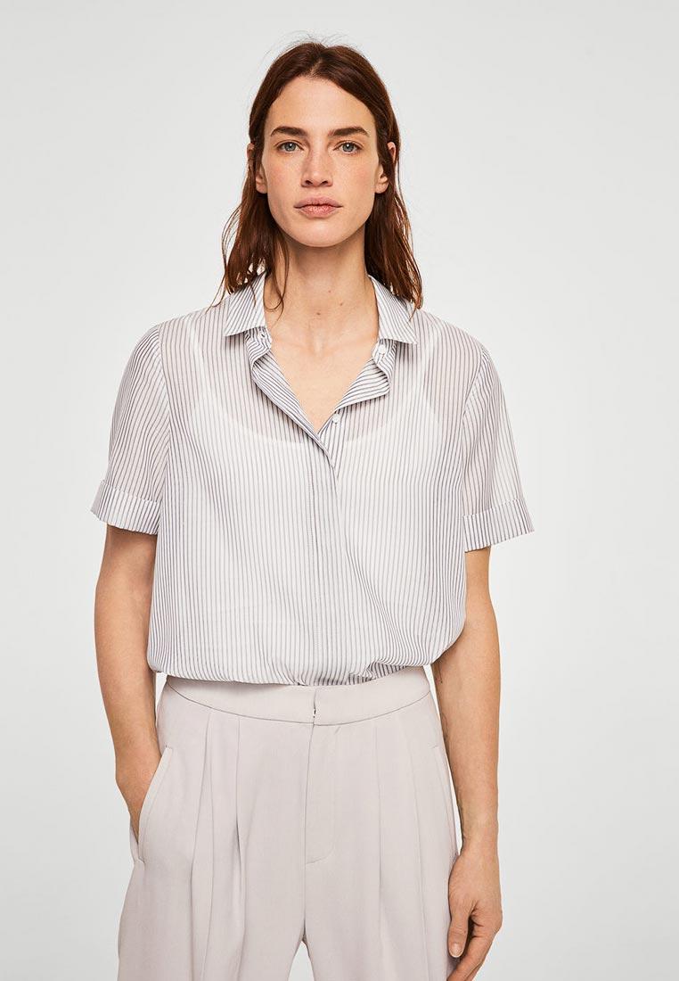 Рубашка с коротким рукавом Mango (Манго) 23037698