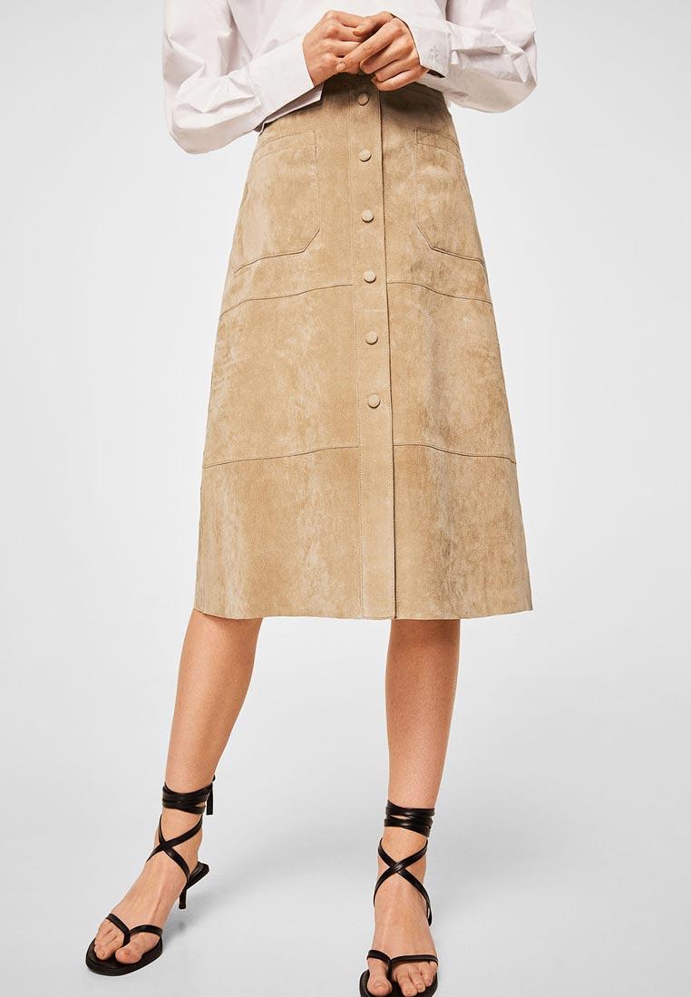 Широкая юбка Mango (Манго) 23047705