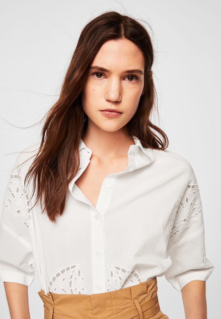 Рубашка с коротким рукавом Mango (Манго) 23038819