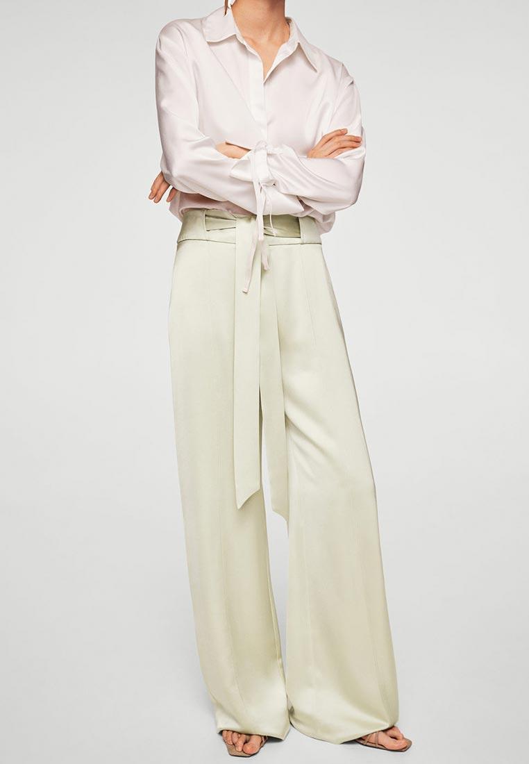 Женские широкие и расклешенные брюки Mango (Манго) 21059037