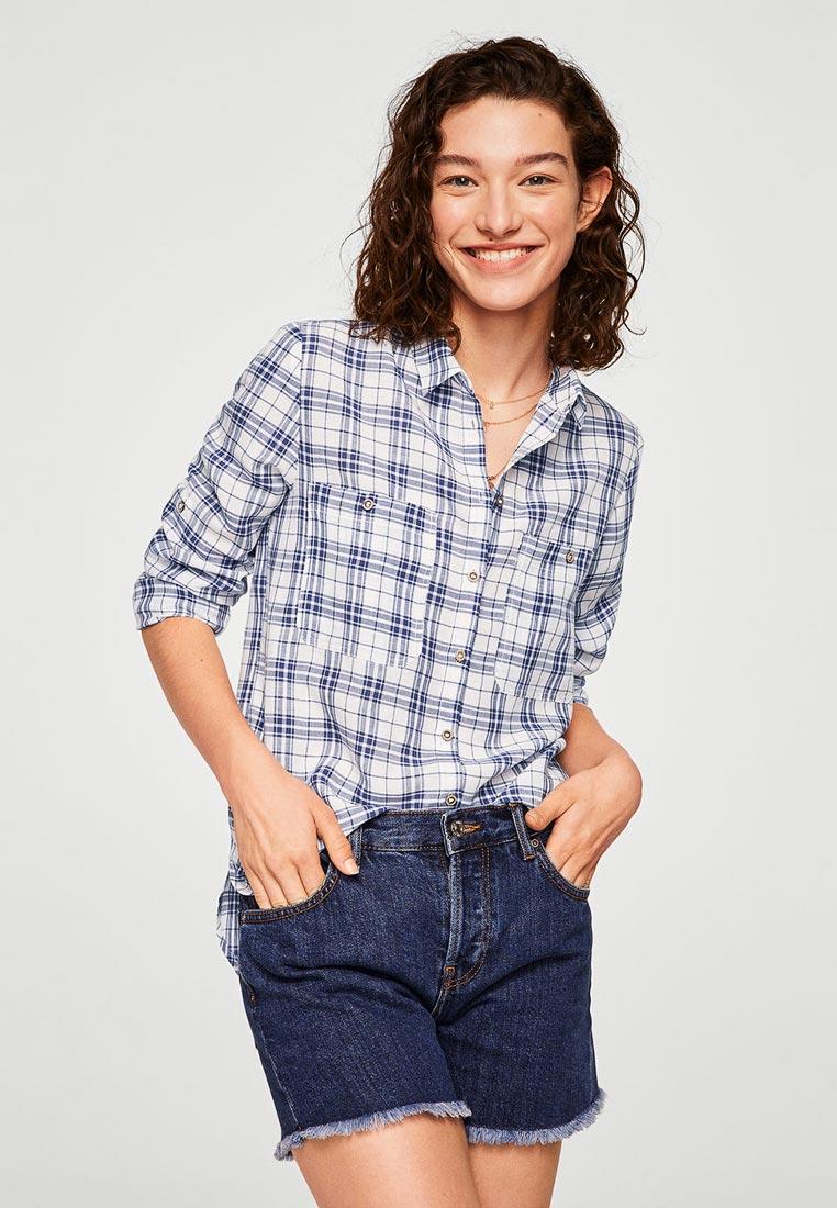 Женские рубашки с длинным рукавом Mango (Манго) 33030913