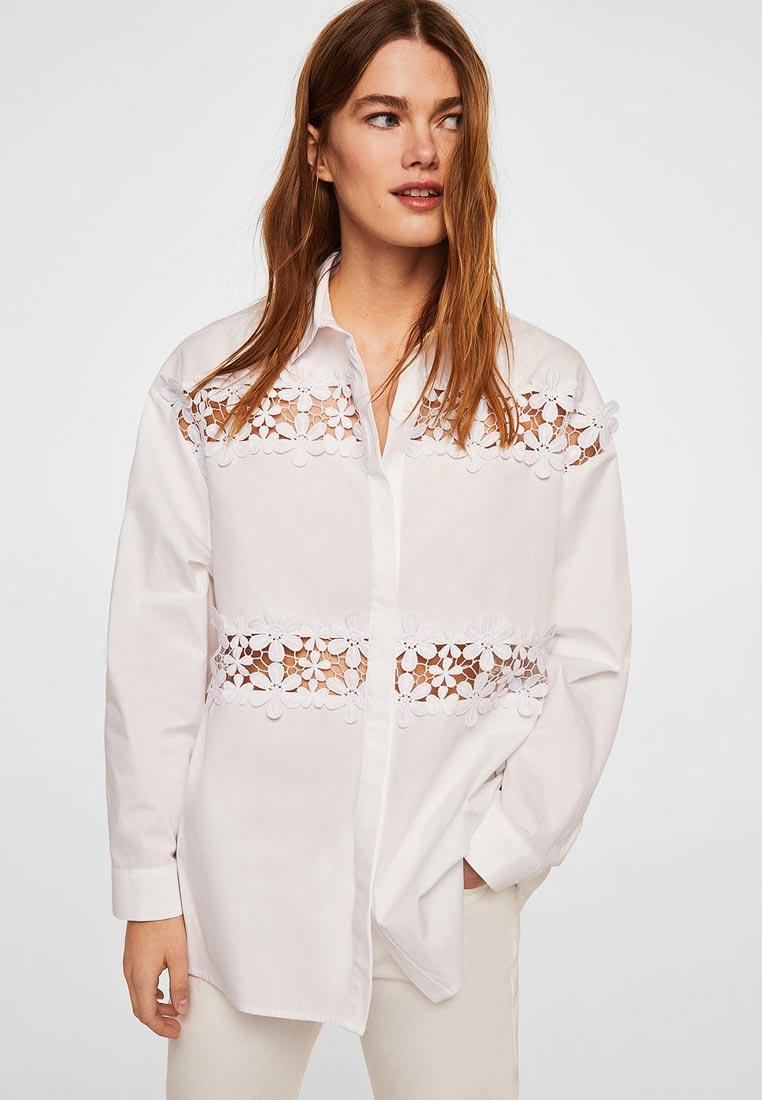 Женские рубашки с длинным рукавом Mango (Манго) 33070414