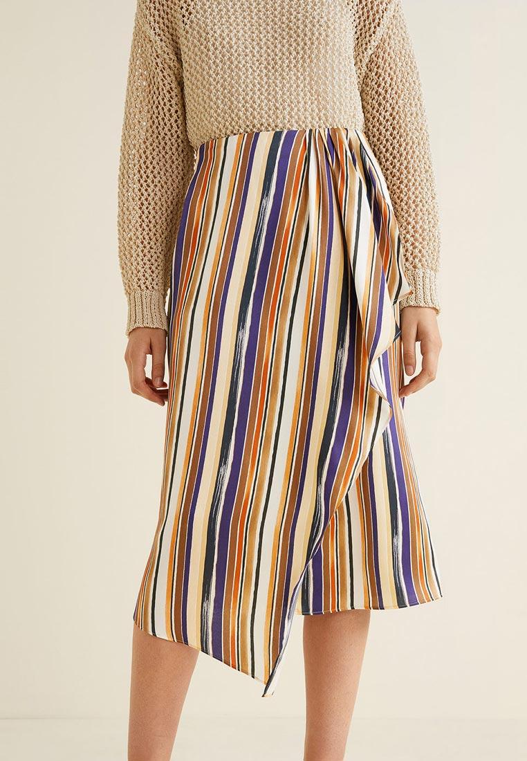 Прямая юбка Mango (Манго) 31050865