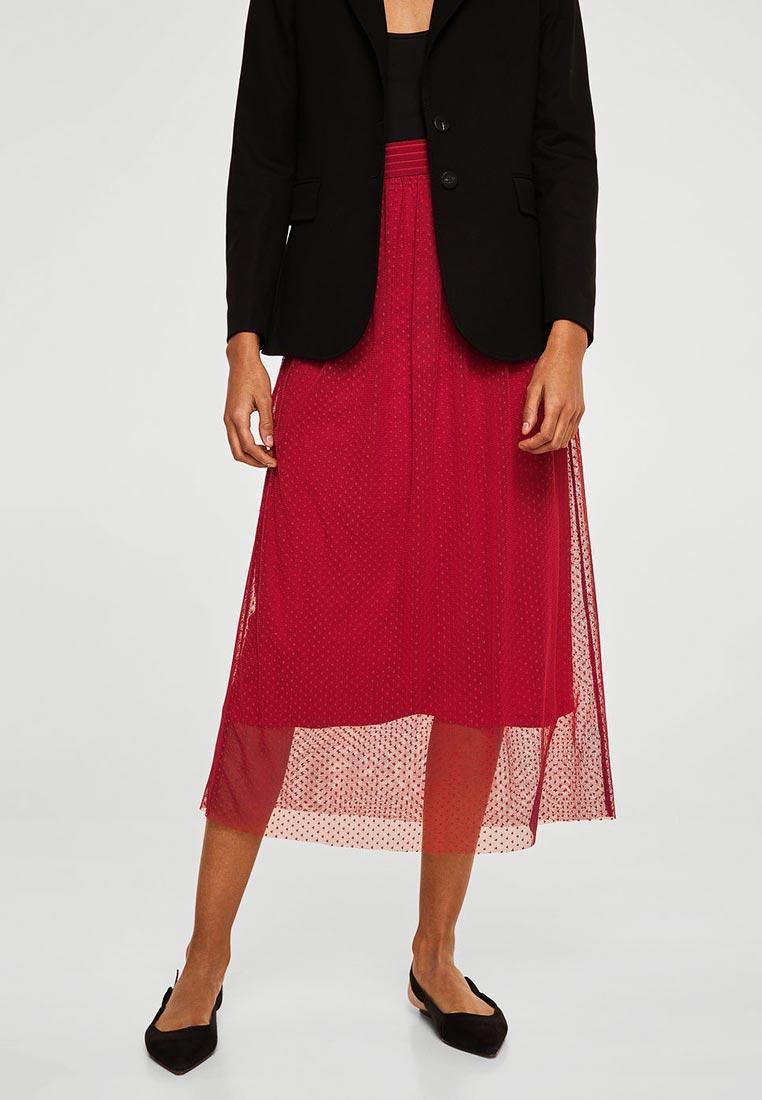 Прямая юбка Mango (Манго) 33030697