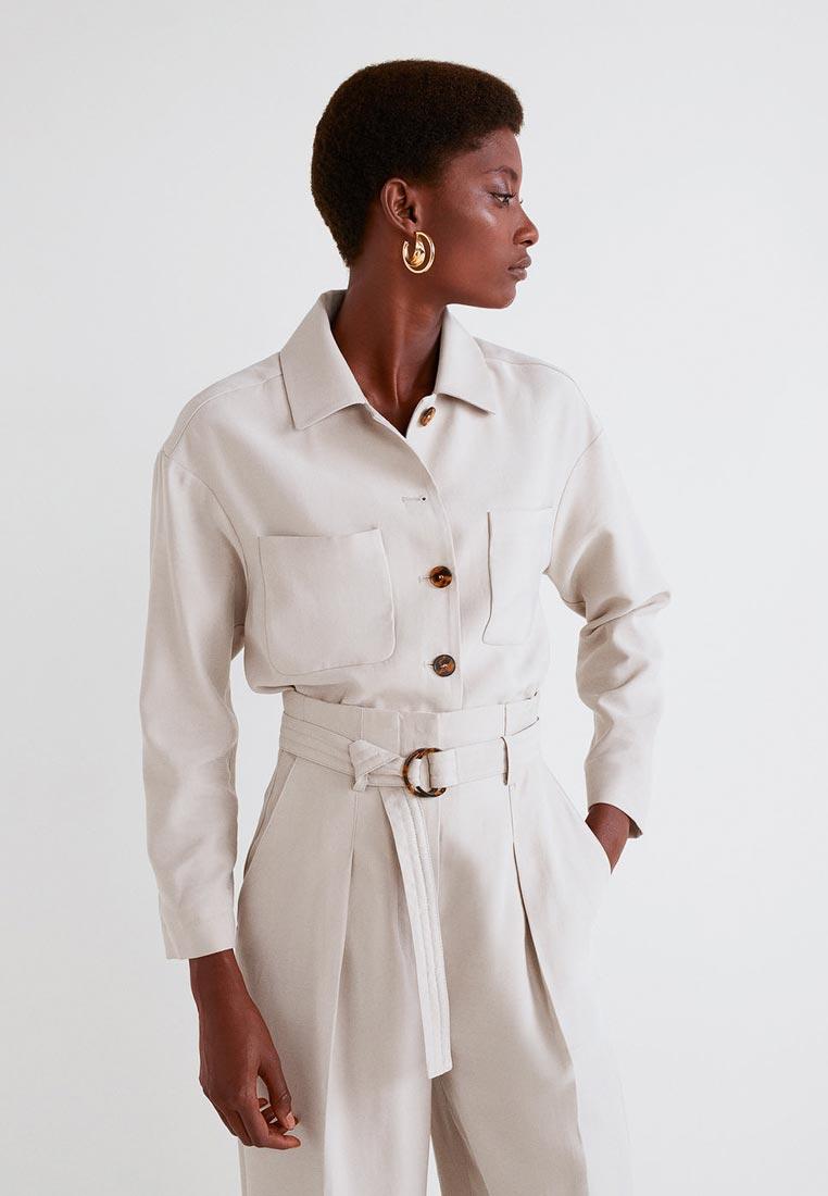 Женские рубашки с длинным рукавом Mango (Манго) 31040915