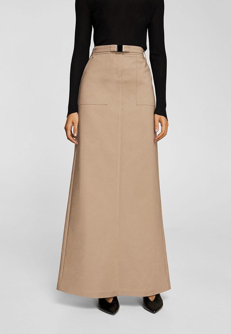 Широкая юбка Mango (Манго) 23079041
