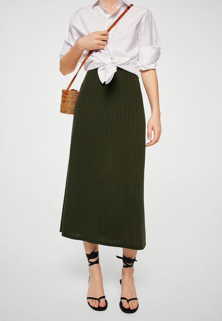 Широкая юбка Mango (Манго) 33060934