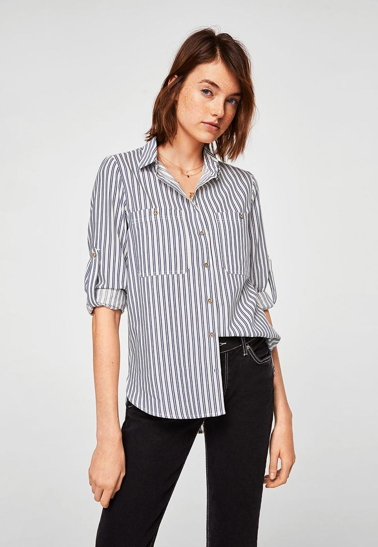Женские рубашки с длинным рукавом Mango (Манго) 33070912
