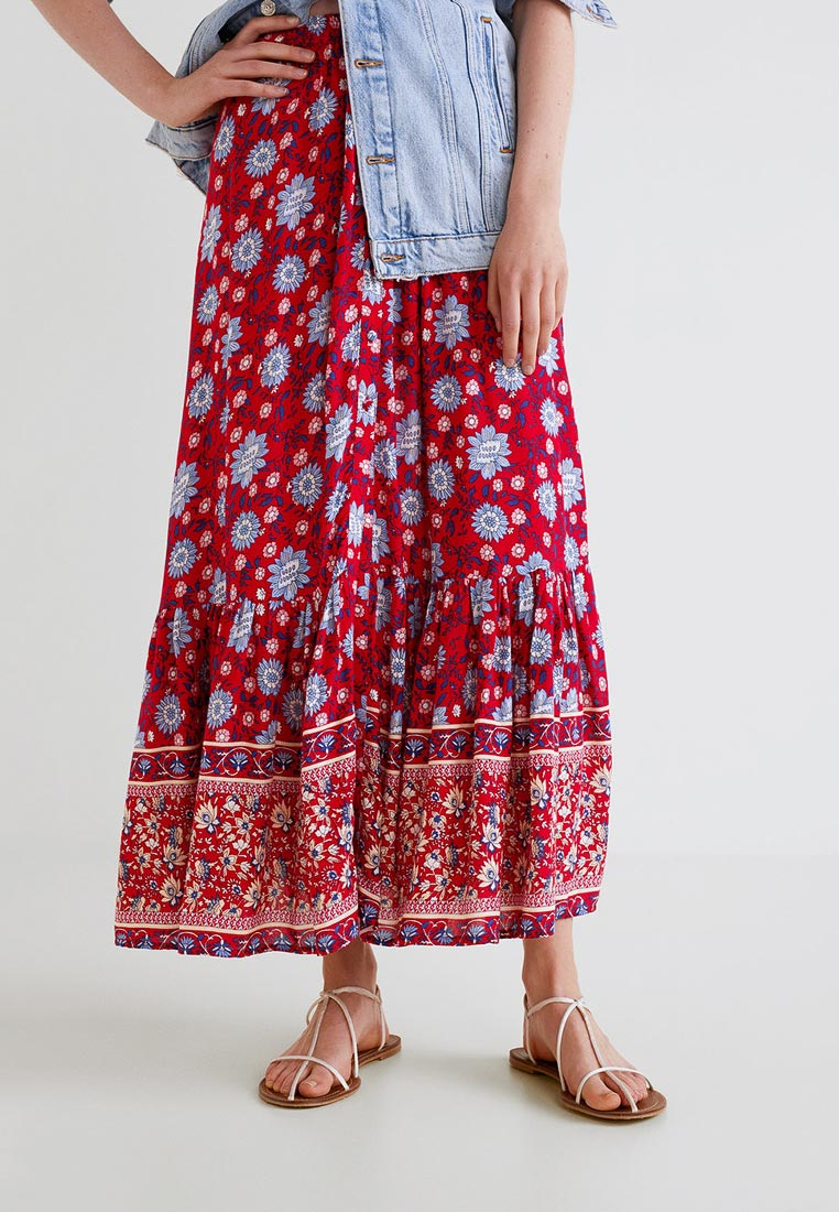 Широкая юбка Mango (Манго) 33050837