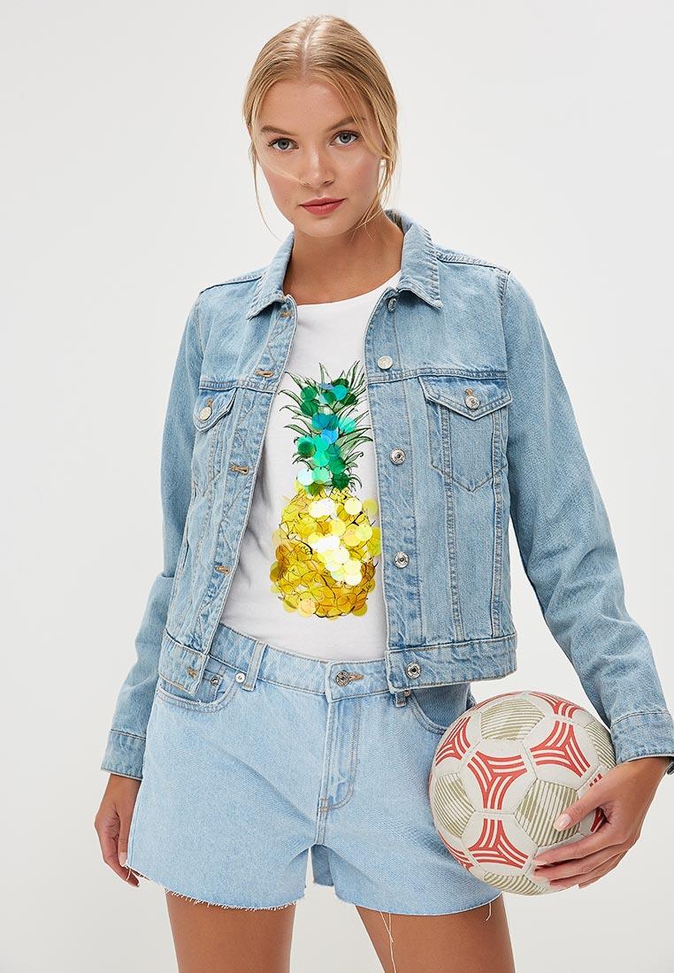 Джинсовая куртка Mango (Манго) 33080457