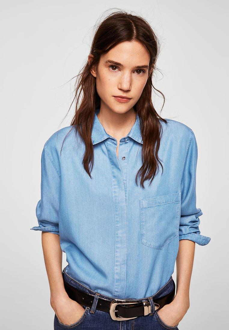 Женские рубашки с длинным рукавом Mango (Манго) 33090608