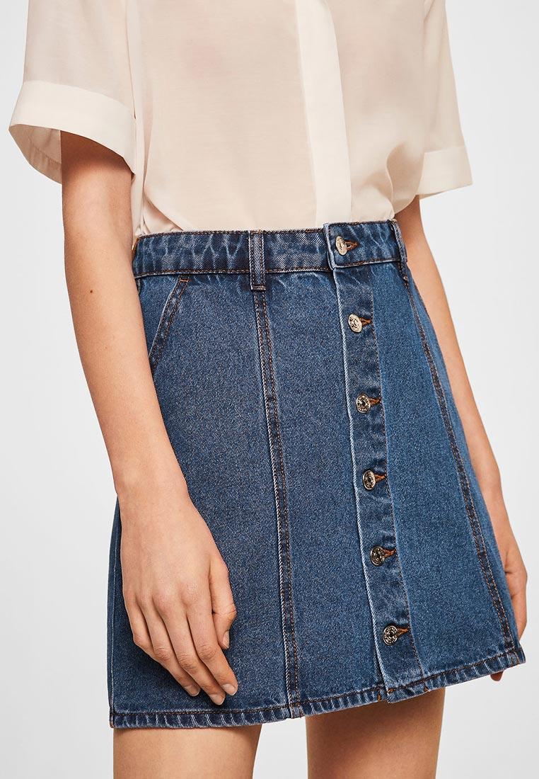 Широкая юбка Mango (Манго) 33040467