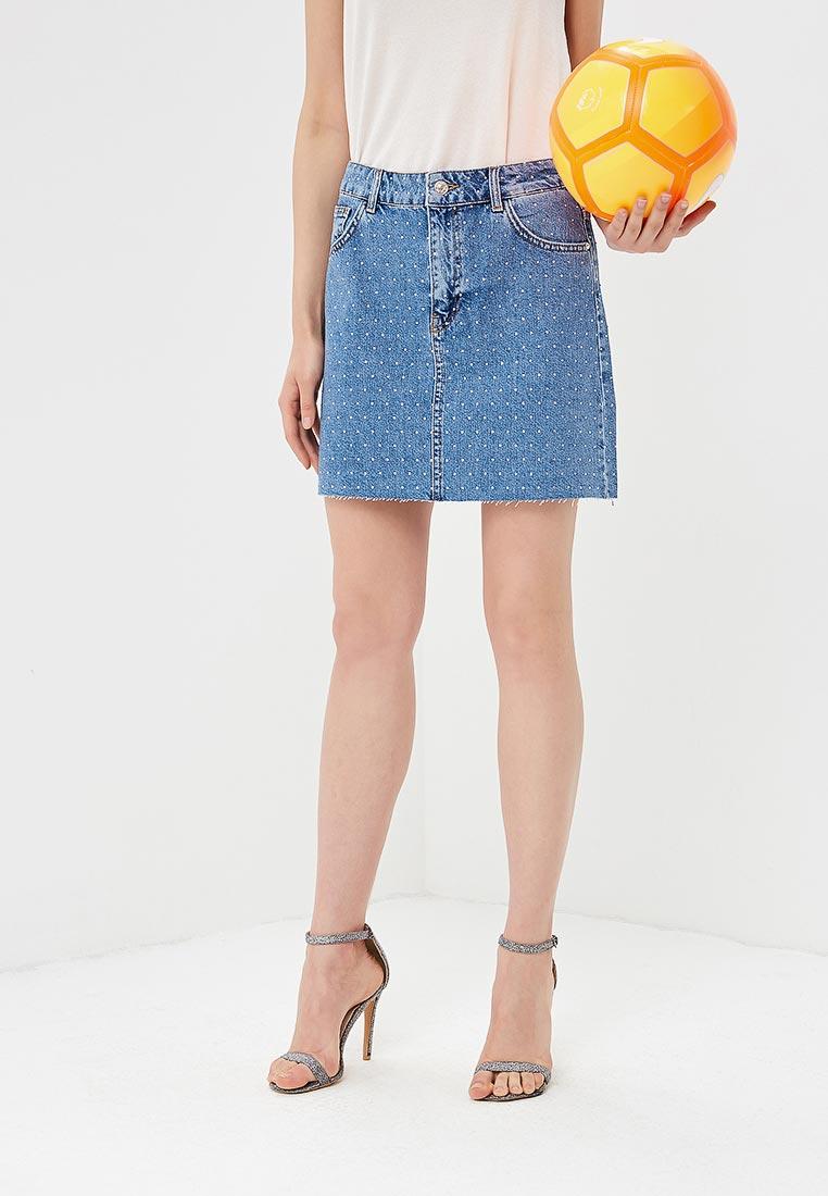 Джинсовая юбка Mango (Манго) 33050614