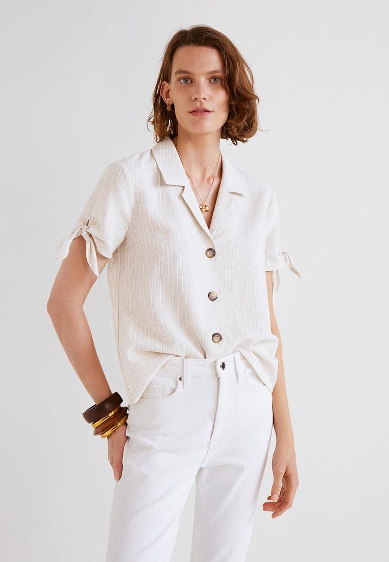 Рубашка с коротким рукавом Mango (Манго) 33060930