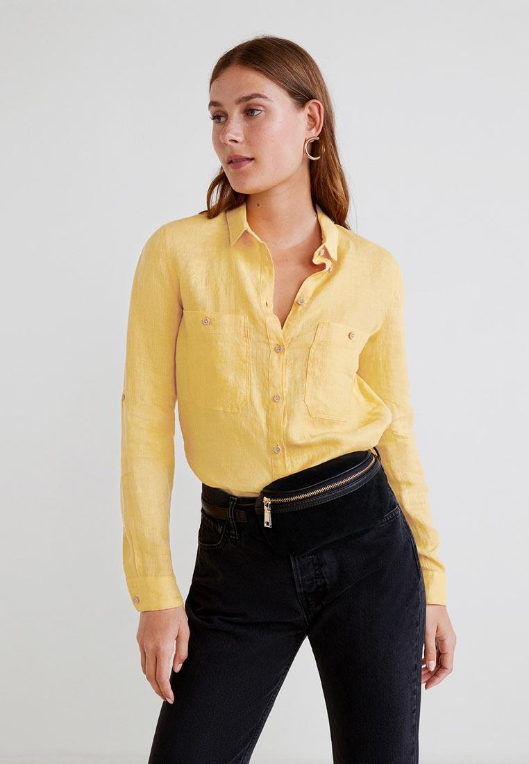 Женские рубашки с длинным рукавом Mango (Манго) 31040962