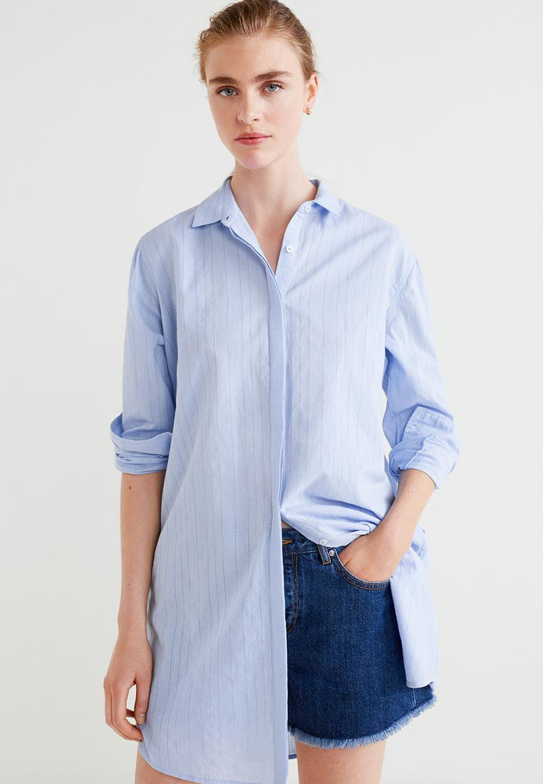 Женские рубашки с длинным рукавом Mango (Манго) 33060642