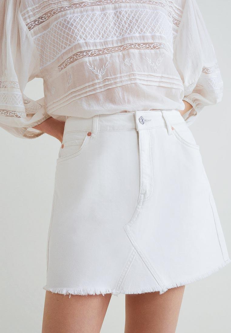 Широкая юбка Mango (Манго) 33030494