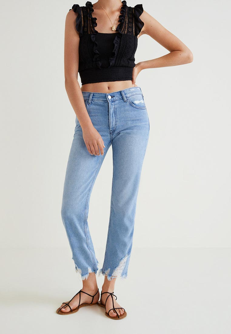 Прямые джинсы Mango (Манго) 33000602
