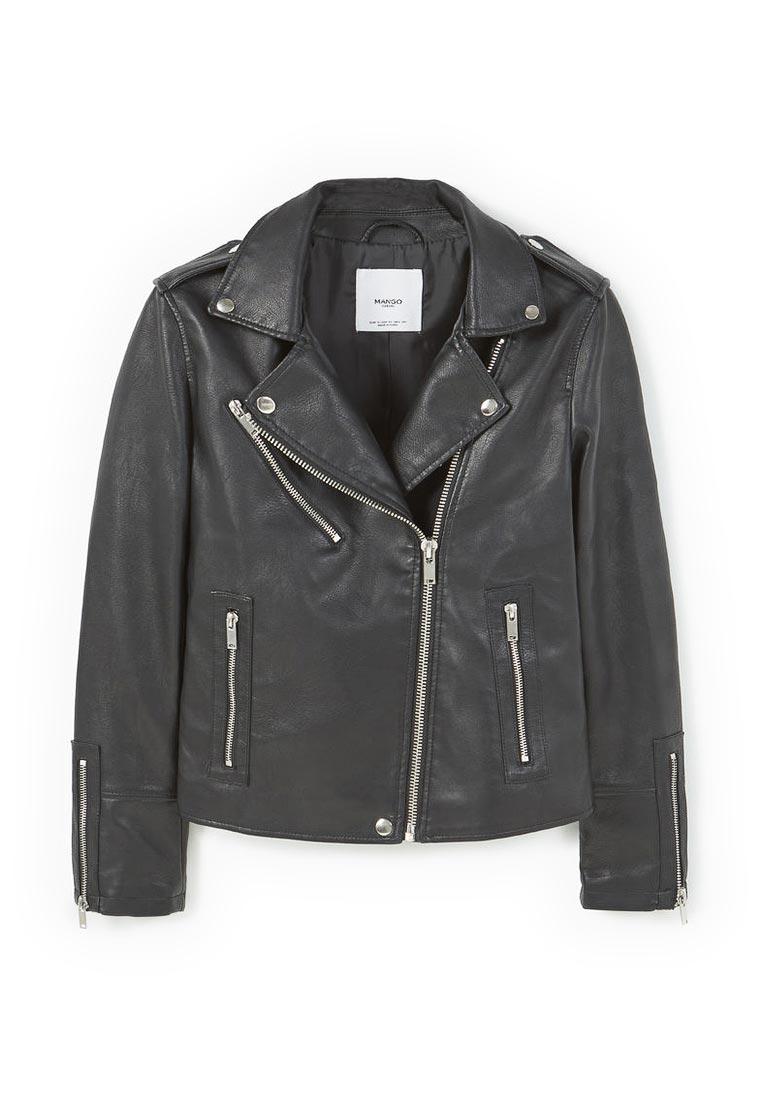 Кожаная куртка Mango (Манго) 83973012
