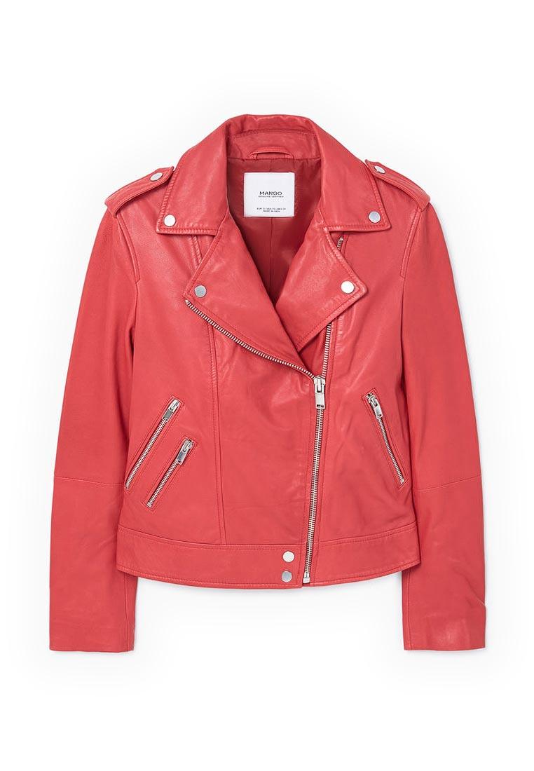 Кожаная куртка Mango (Манго) 83080046