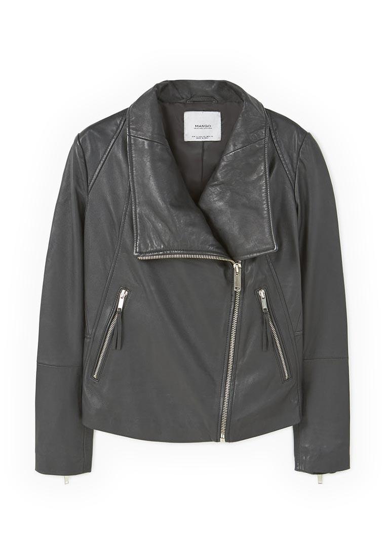 Кожаная куртка Mango (Манго) 83070206