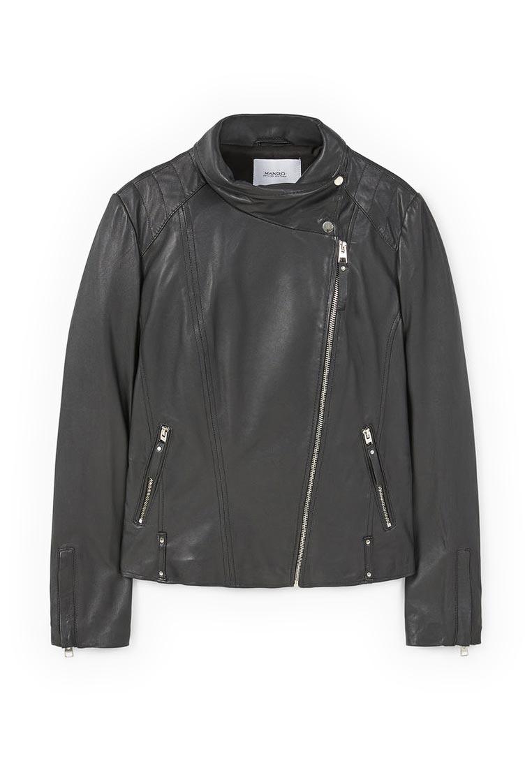 Кожаная куртка Mango (Манго) 83990054
