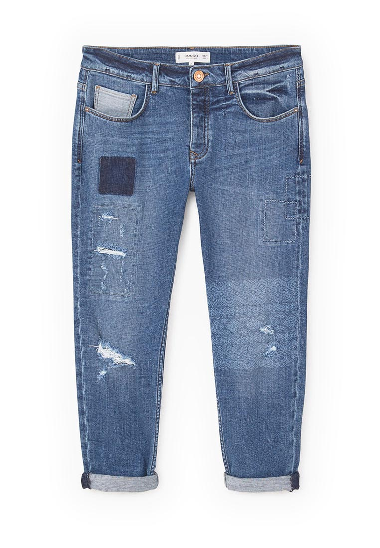 Прямые джинсы Mango (Манго) 83003514