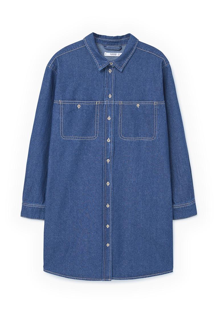 Женские джинсовые рубашки Mango (Манго) 83080219