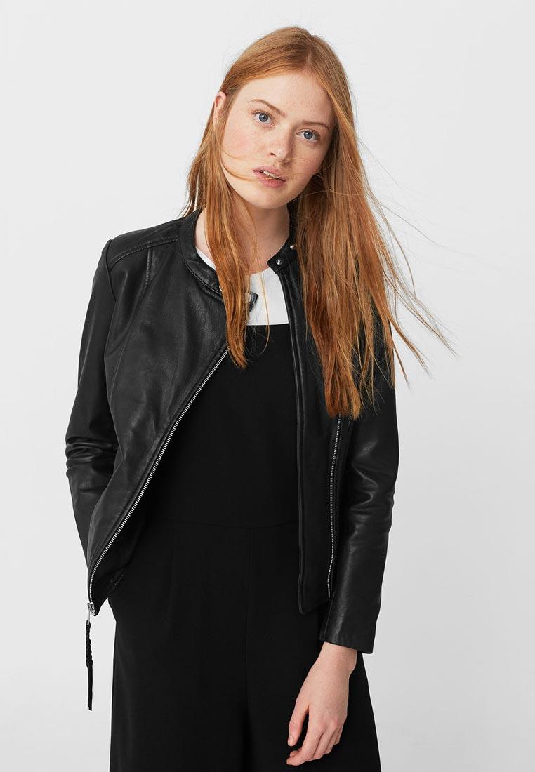 Кожаная куртка Mango (Манго) 83090071