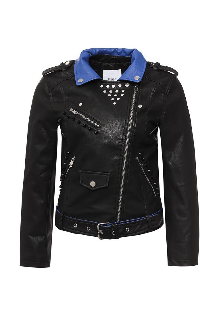 Кожаная куртка Mango (Манго) 83063576