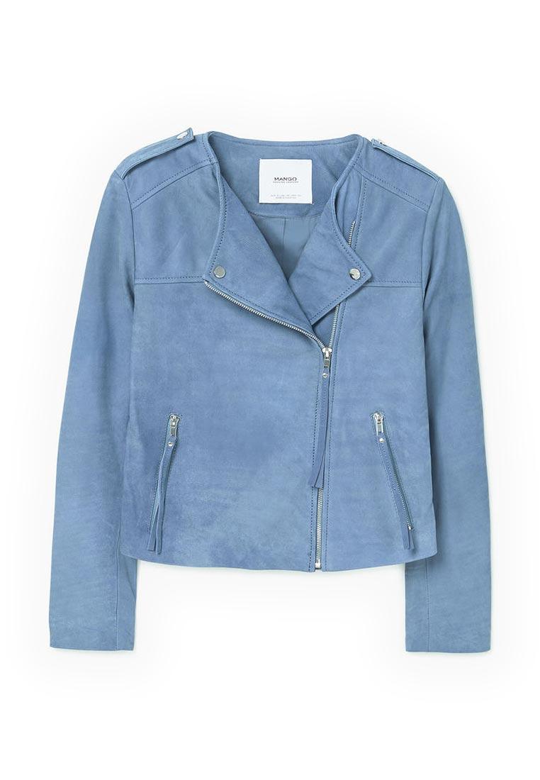 Кожаная куртка Mango (Манго) 83045502
