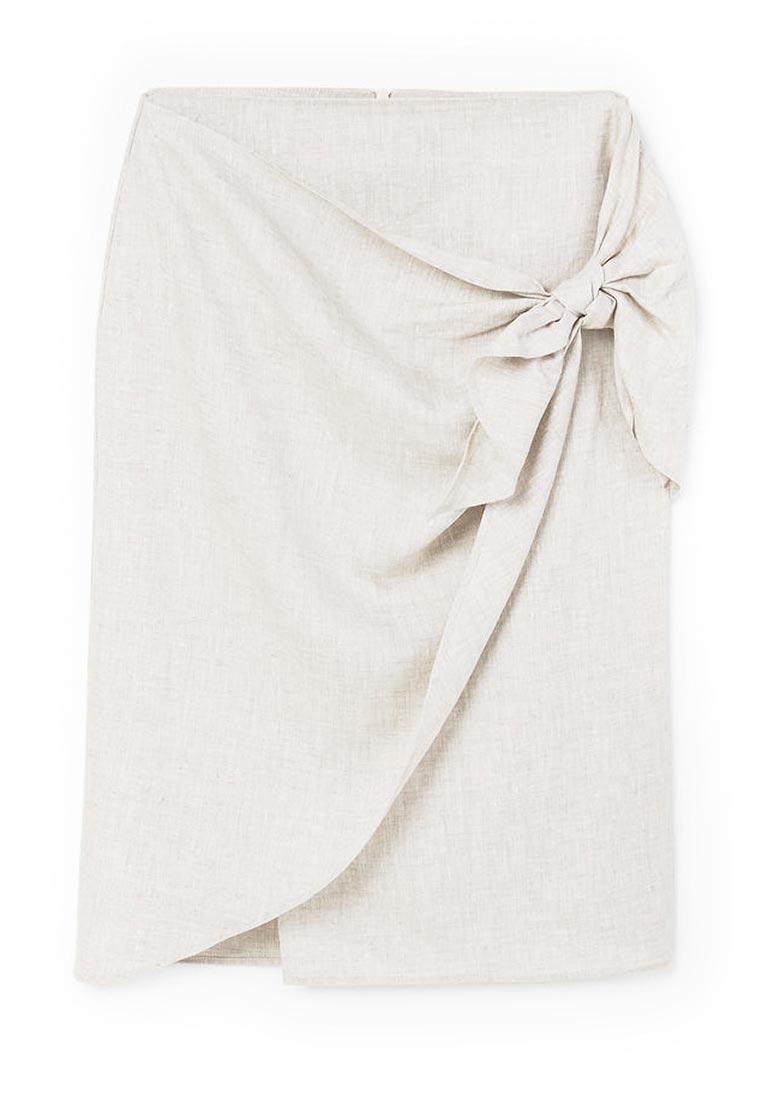 Прямая юбка Mango (Манго) 81097599