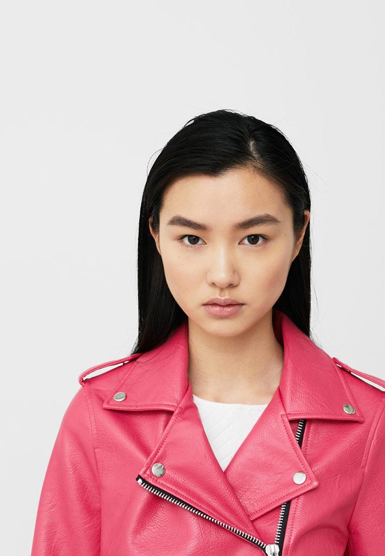 Кожаная куртка Mango (Манго) 13090396: изображение 7