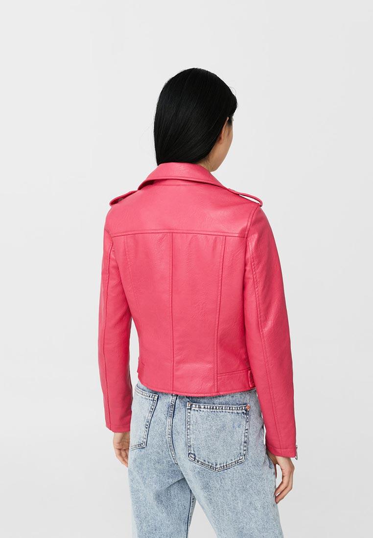 Кожаная куртка Mango (Манго) 13090396: изображение 8