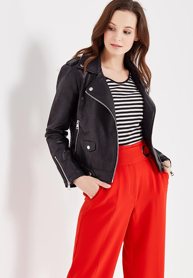 Кожаная куртка Mango (Манго) 13090396