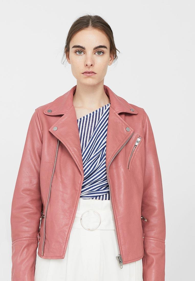Кожаная куртка Mango (Манго) 13080394
