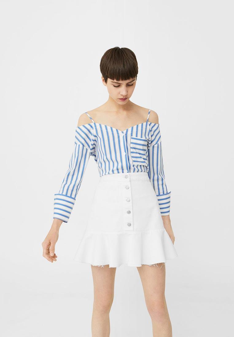 Джинсовая юбка Mango (Манго) 13030357