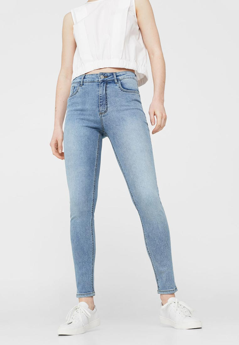 Зауженные джинсы Mango (Манго) 13050286