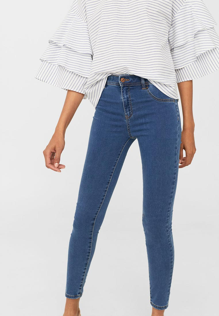 Зауженные джинсы Mango (Манго) 13040391