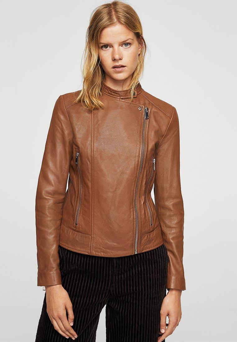 Кожаная куртка Mango (Манго) 13063671