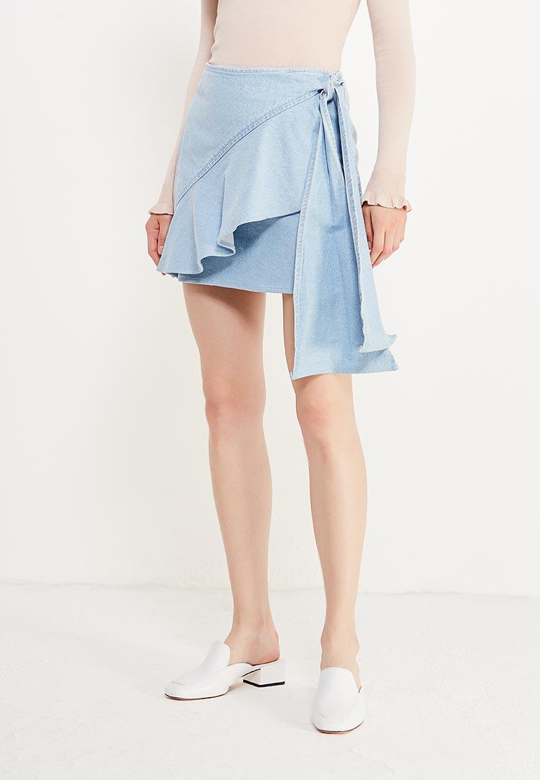 Прямая юбка Mango (Манго) 13043031