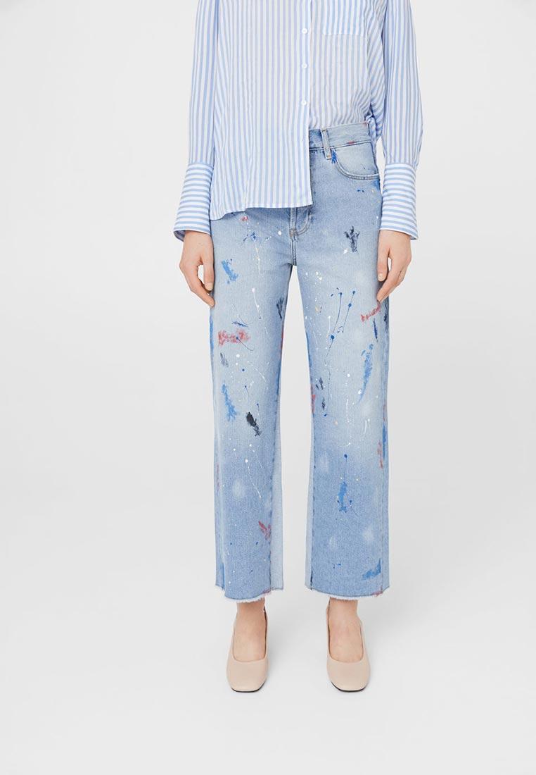 Широкие и расклешенные джинсы Mango (Манго) 13090659