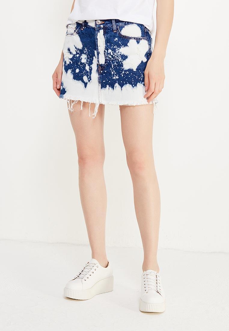 Прямая юбка Mango (Манго) 13020554