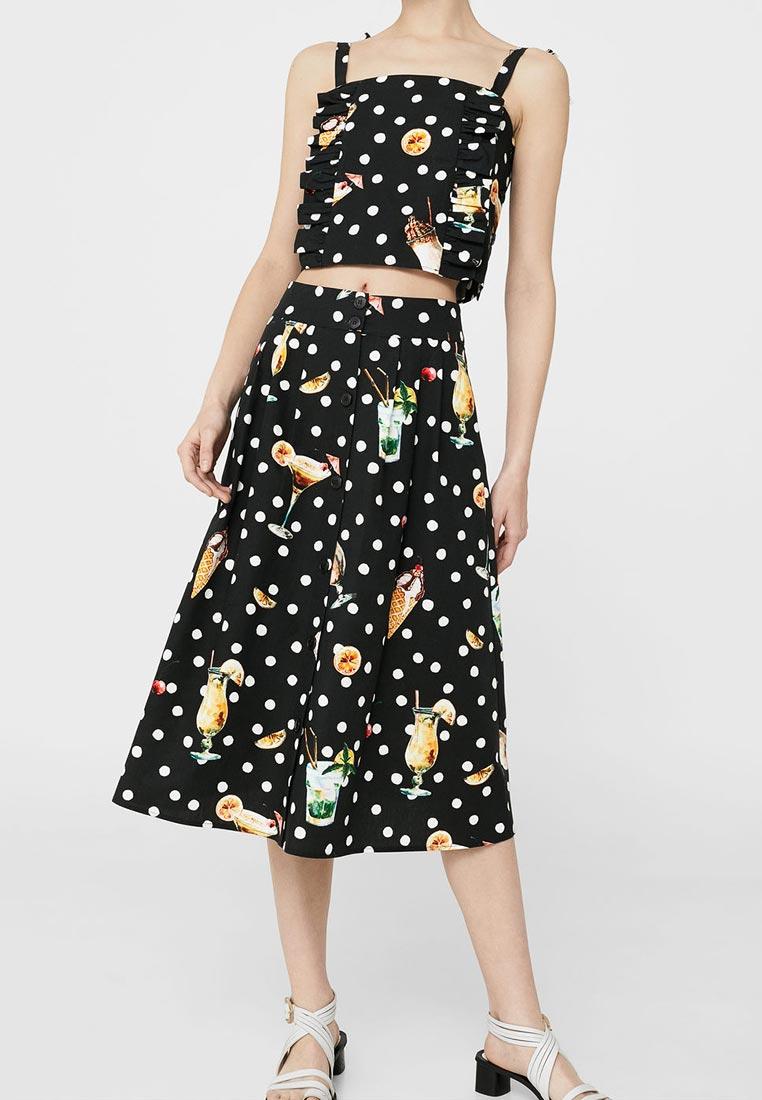 Широкая юбка Mango (Манго) 13070716
